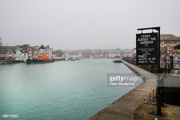 A view of the harbour on April 5 2014 in Weymouth England The Allied invasion to liberate mainland Europe from Nazi occupation during World War II...