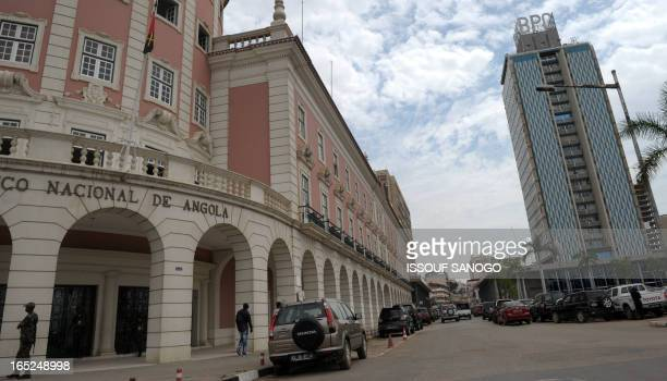 View of the headquarters of the National Bank of Angola on January 29 2010 Portuguese Chinese and Brazilian companies are in competition as...
