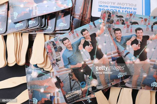 A view of the HGTV Lodge during CMA Music Fest on June 11 2017 in Nashville Tennessee