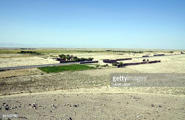 A view of the highway 517 the dangerous road that connect Farah to the Ring Road on September 15 2009 in Farah Afghanistan Italian soldiers of the...