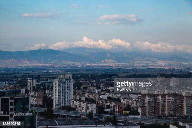 view of the historic Bulgarian capital Sofia Sofia was and is a very important financial and administrative city for the area and the Balkans There...