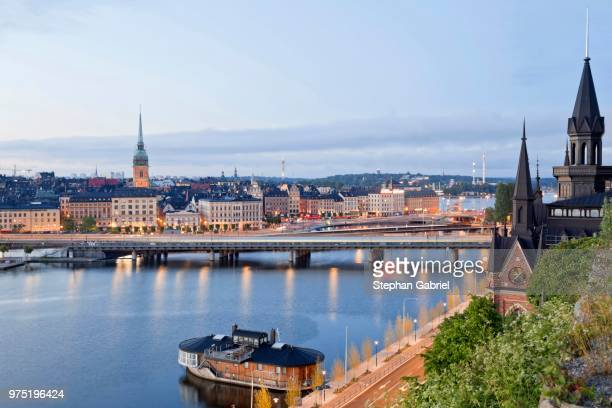 View of the historic centre, Gamla Stan, Stockholm, Sweden