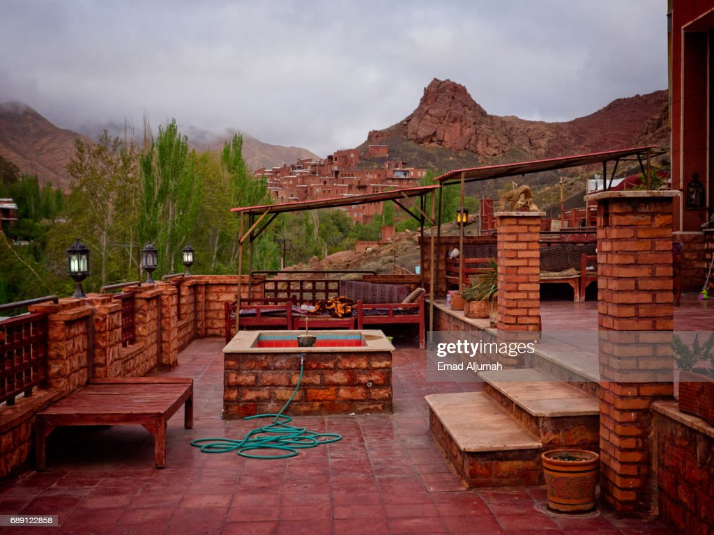 View of the Historical Village of Abyaneh, Iran - April 28, 2017 : Stock Photo