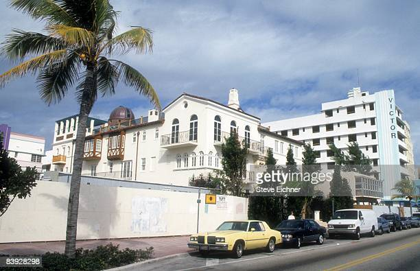 View of the home of Gianni Versace in South Beach Florida 1994