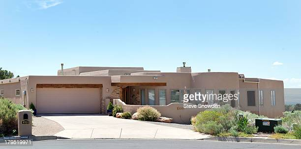 A view of the home used for characters DEA Agent Hank Schrader and Marie Schrader in 'Breaking Bad' seen on August 31 2013 in Albuquerque New Mexico...