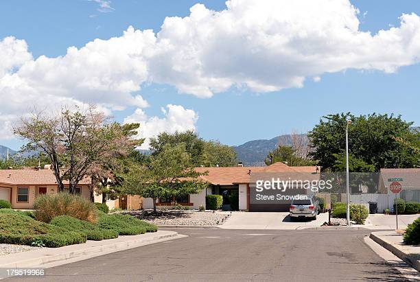 A view of the home used for the White residence in television series 'Breaking Bad' seen on August 31 2013 in Albuquerque New Mexico 'Breaking Bad'...