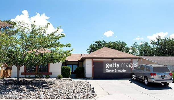 A view of the home used for the White residence in television series 'Breaking Bad' seen on September 01 2013 in Albuquerque New Mexico 'Breaking...