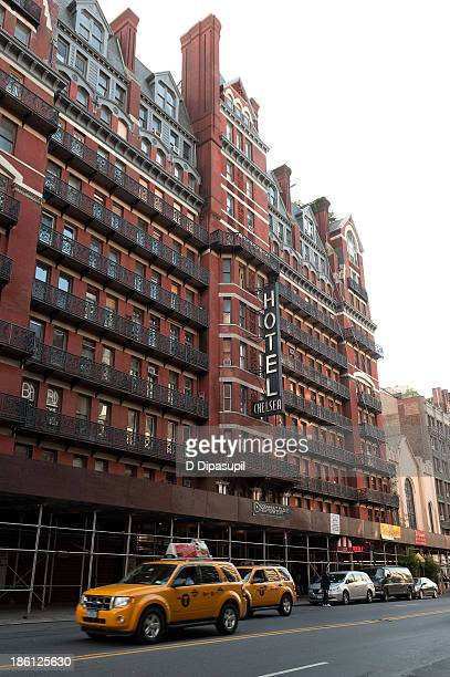 A view of the Hotel Chelsea on October 28 2013 in New York City