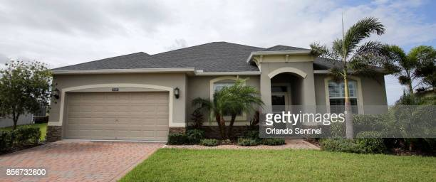 A view of the house at 3405 Sansome Circle in Melbourne Fla that Las Vegas shooter Stephen Paddock lived in from 2013 to 2015 photographed Monday...