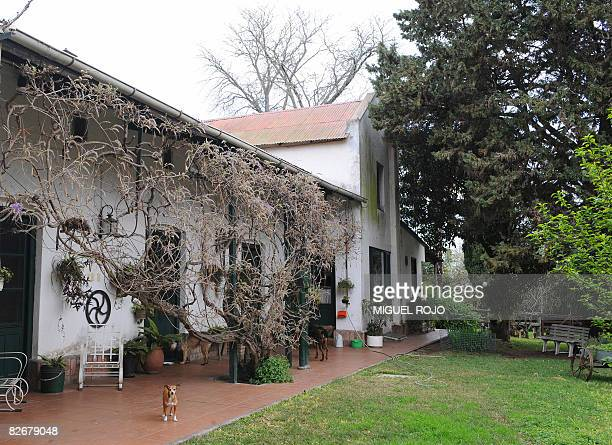 View of the house in which German Nazi criminal Josef Mengele lived a few days before getting married in 1958, on September 5, 2008 in Nueva...