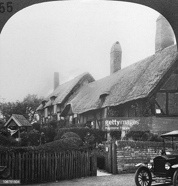 View Of The House Where Anne Hathaway Lived The Future Wife Of Shakespeare In Shottery England Around 19001920 The Cottage Belongs To The State Since...