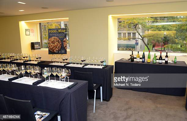 A view of the Hudson New York Hotel at Dim Sommelier A RedFarm Pairing Seminar Hosted By Ed Schoenfeld And Josh Wesson Celebrity Cruises Pairing...