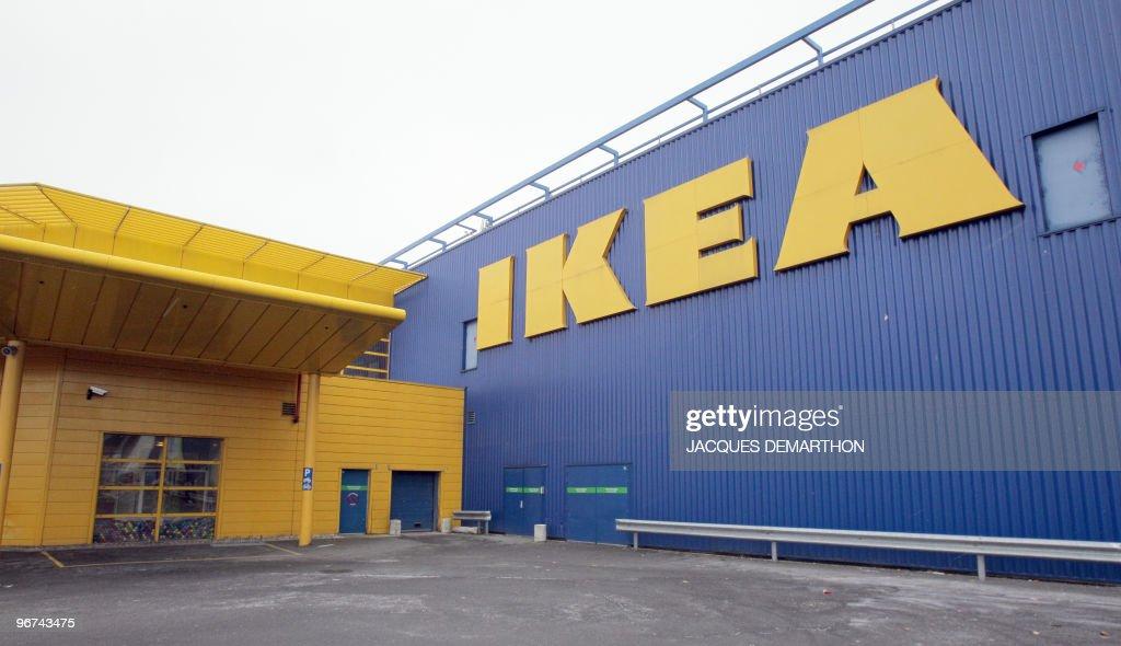View of the Ikea store in Roissy-en-Fran : Fotografía de noticias