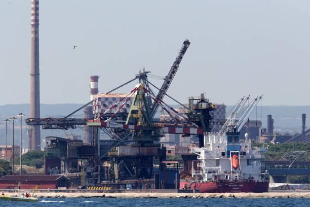 ITA: Italy's Giant Ilva Steel Plant General Views