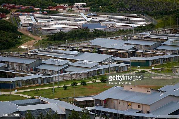 A view of the Immigration Detention Center February 29 2012 on Christmas Island Australia Department of Immigration officials are saying today that...