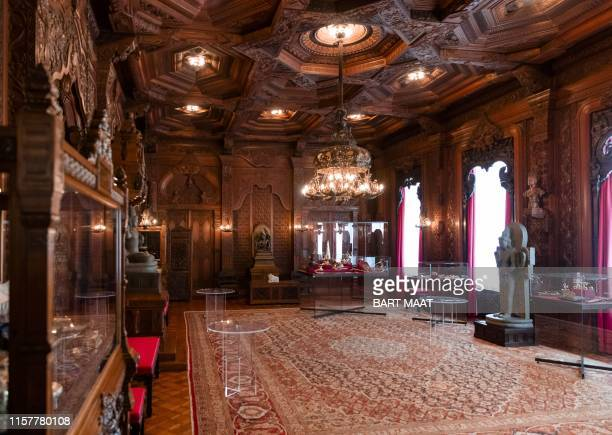 View of the Indian Room in Noordeinde Palace, ahead of the Summer opening, in The Hague, on July 26, 2019. / Netherlands OUT