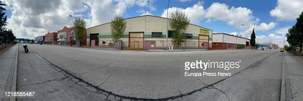 View of the industrial estate of Vallecas on the day that nonessential work activity is reactivated in companies whose employees cannot telework one...