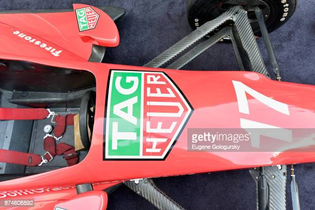 A view of the Indy Show Car during the TAG Heuer Gran Turismo Event at Sony Square on November 15 2017 in New York City