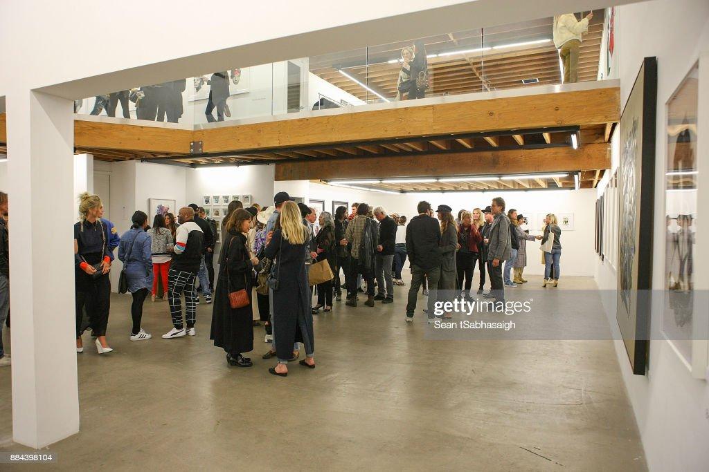 OptiMystic: A Brandon Boyd Pop Up Gallery Featuring He, Tasya Van Ree, Natalie Bergman, Diana Garcia And DJ Set By Brent Bolthouse : News Photo