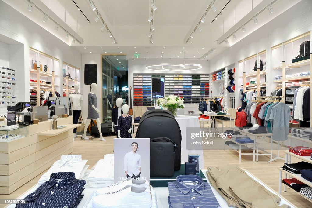 new arrival 3bbff 3bc09 A view of the interior at the Lacoste Century City Grand ...