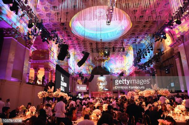 A view of the interior during Rihanna's 4th Annual Diamond Ball benefitting The Clara Lionel Foundation at Cipriani Wall Street on September 13 2018...