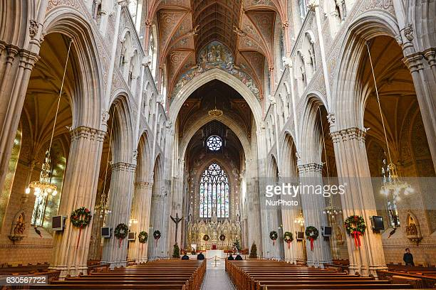 A view of the interior of St Patrick's Cathedral Armagh On Monday 26 December 2016 in Armagh Northern Ireland United Kingdom
