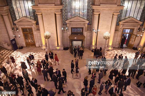A view of the interior of the New York Public Library during the Tiger Woods Foundation's 20th Anniversary Celebration at the New York Public Library...