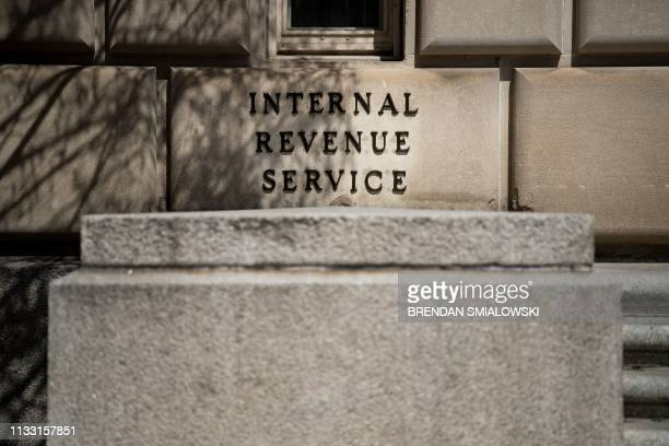 A view of the Internal Revenue Service building is seen on March 27 in Washington DC