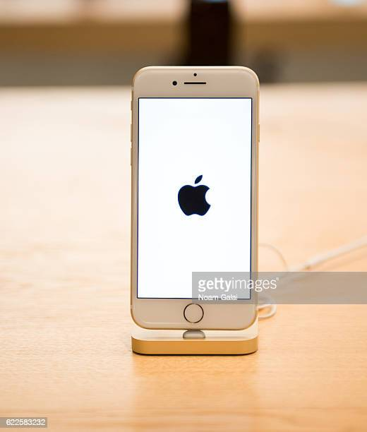 A view of the iPhone 7 as seen inside Apple Store Soho on November 11 2016 in New York City