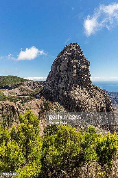 A view of the island of La Gomera, the second smallest island in the Canary Islands, Spain, Atlantic, Europe