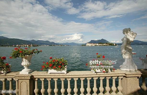 View of the Isola Bella Islands and Borromeo Palace from a Private Villa