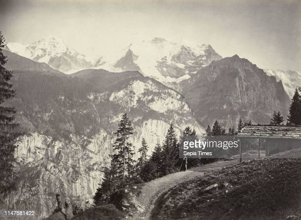 View of the Jungfrau Switzerland William England Son Co Marion 1863 1865