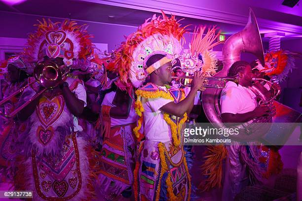 View of the Junkanoo Parade during CMT Story Behind The Songs LIV Weekend at Sandals Royal Bahamian Spa Resort Offshore Island Day 3 at Sandals Royal...