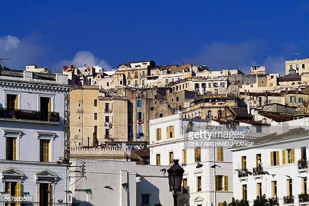 View of the Kasbah from Place des Martyrs Algiers Algeria