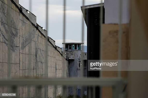 A view of the Korydallos Prison Athens April 20 2015