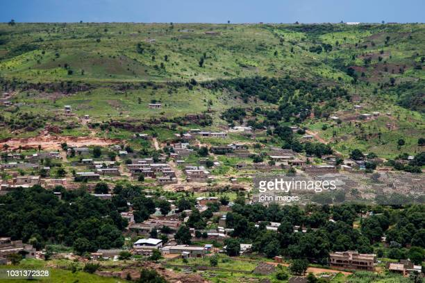 view of the landscape koulouba district segou bougouni - bamako stock pictures, royalty-free photos & images