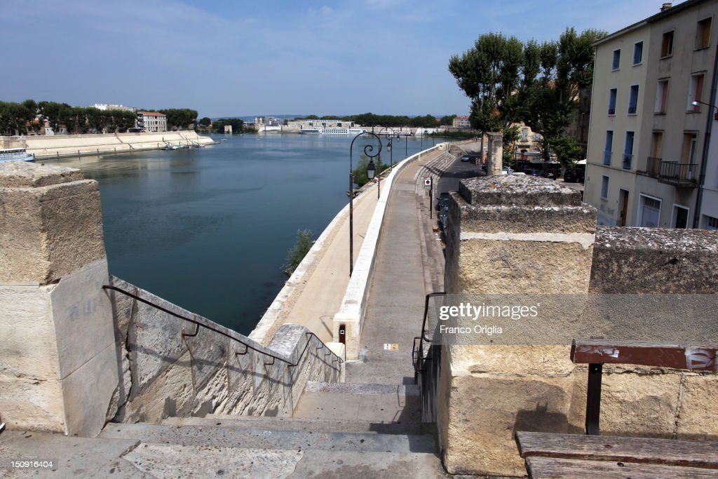 A view of the left bank of the Rhone on August 11, 2012 in Arles, France. Arles is a city in the south of France in the Mouths of the Rhone. The city has a long history, and was of considerable importance in the Roman province of Gallia. The Roman Monuments of the city were listed as UNESCO World Heritage in 1981. The Dutch painter Vincent van Gogh lived in Arles in 1888-1889 and produced over 300 paintings and drawings during his time there.
