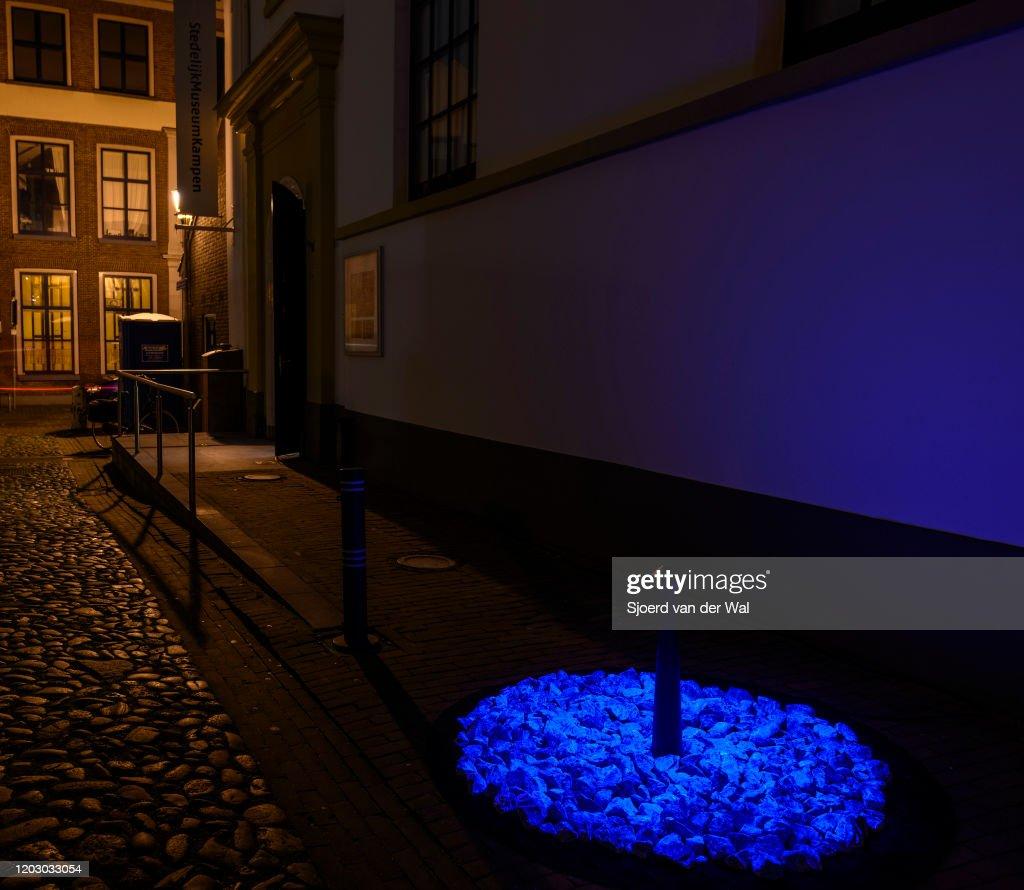 LEVENSLICHT Holocaust Memorial : News Photo