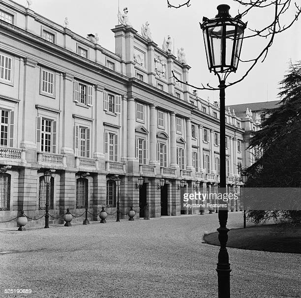 A view of the Liria Palace Madrid 17th March 1959