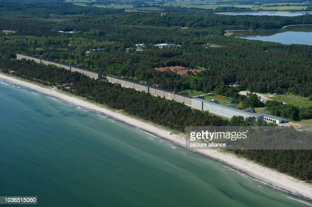 View of the listed building complex Prora on the island of Ruegen, Germany, 5 June 2013. The longest youth hostle in the world was opened in June...
