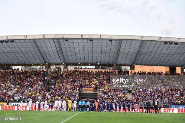 View of the Ljudski vrt, stadium during the Second qualifying round of the UEFA Champions League between NK Maribor and AIK Football at the Ljudski...