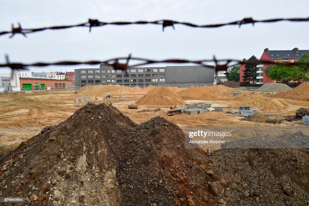 A view of the location where unexploded bombs from World War II might possibly lie underground on May 7, 2017 in Hanover, Germany. 50,000 residents have to be evacuated. Unexploded World War II bombs, mostly from Allied aerial bombing, remain a deadly legacy and smaller scale evacuations are a regular occurrence in major urban centers across Germany throughout the year.