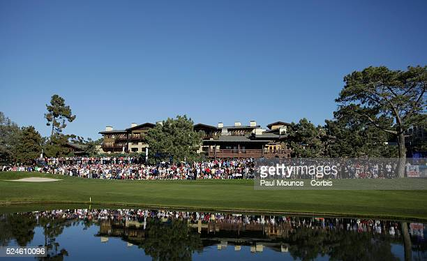 View of The Lodge at Torrey Pines during the Farmers Insurance Open held at Torrey Pines Golf Course