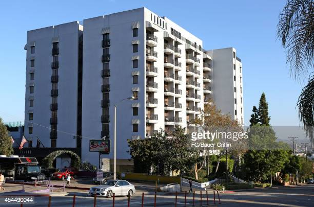View of the London Hotel in West Hollywood on September 01, 2014 in Los Angeles, California.