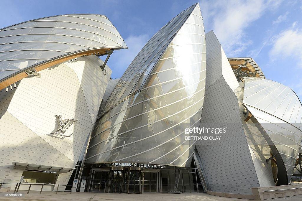 FRANCE-ARCHITECTURE-ART-FONDATION VUITTON : News Photo