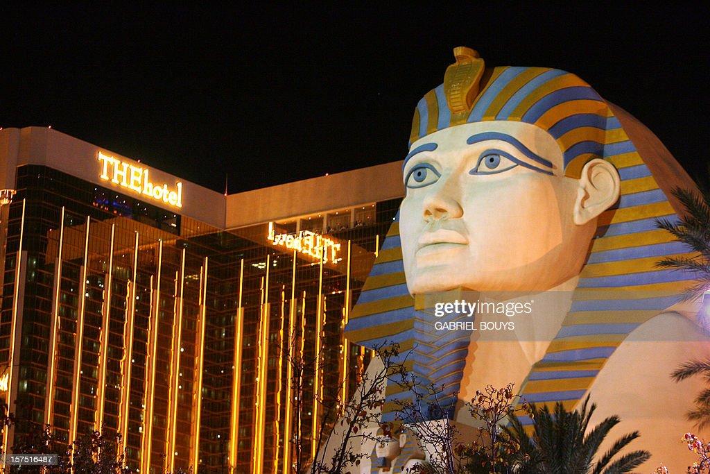 View of the Luxor Hotel in Las Vegas, 12 November 2006.