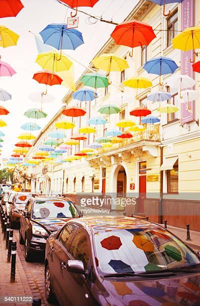 View of the Lviv streets. Ukraine