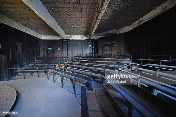 A view of the Mackintosh Lecture Theatre in the west wing basement of the Glasgow School Art announced major plans for its campus on Garnethill on...