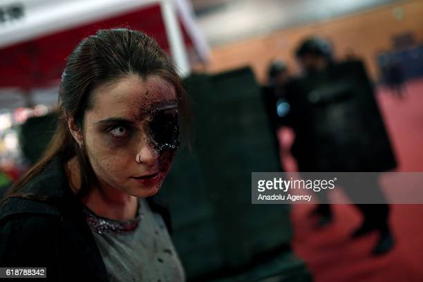 View of the Madrid Gaming Experience fair at IFEMA in Madrid, Spain on October 28, 2016. Madrid Gaming Experience is the most extensive program of...