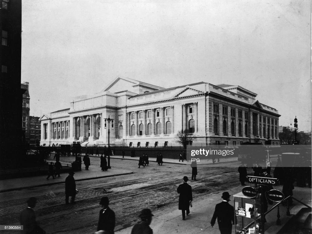 New York Public Library Main Branch : Photo d'actualité